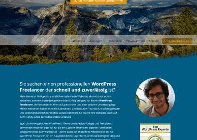 Webdesigner Philipp Pistis